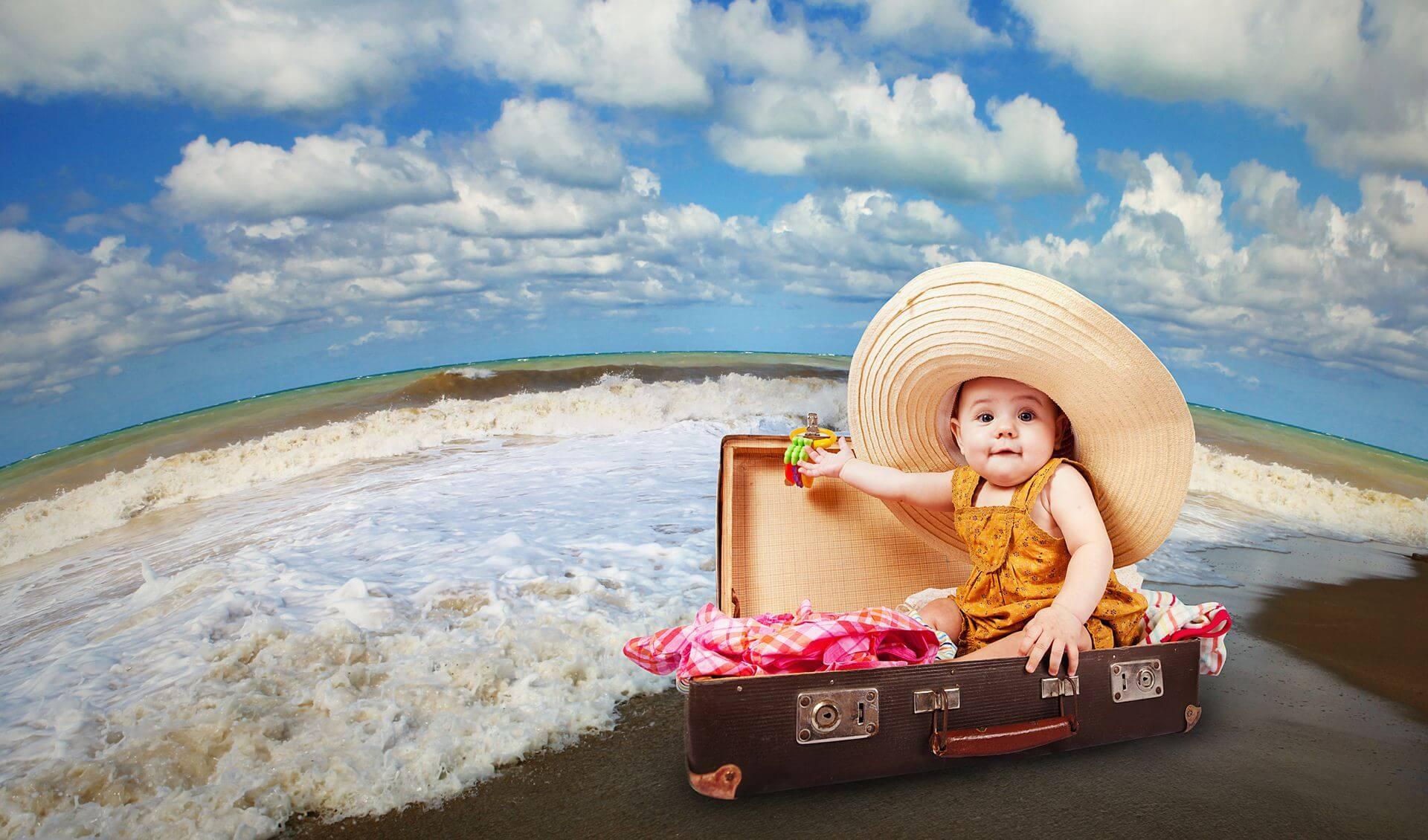 зачастую картинка с чемоданами на море желаю тебе нести